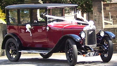 An immaculate 1920's Austin 12 in the Windsor Saloon design.